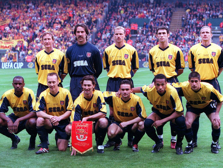 RetroWednesdays - Arsenal at the 1999–2000 UEFA Cup