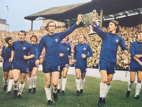 #RetroWednesdays - Chelsea Football Club at the 1970–71 European Cup Winners' Cup