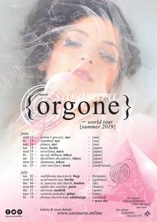 Sarasara - Orgone World tour