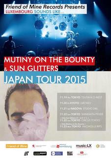 Mutiny on the Bounty - Sun glitters - Japan tour