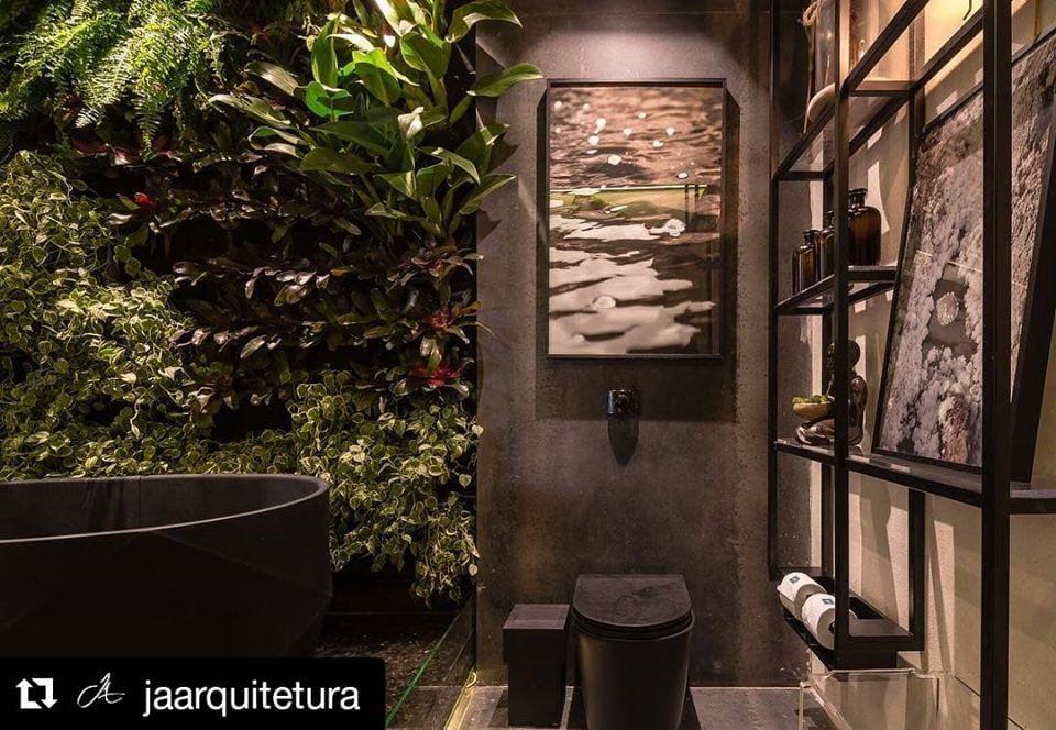 Jardim vertical realizado para a arquiteta Jéssica Araújo na Casa Cor Bahia 2017