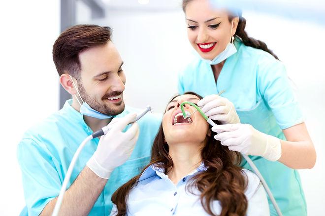 se concentrer sur le soin dentaire