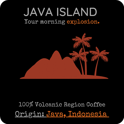 Java Island 8oz./12oz. (Med Roast)