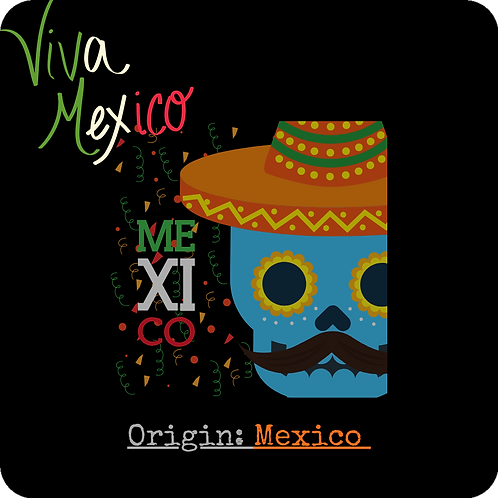 Viva Mexico 8oz./12oz. (Med Roast)