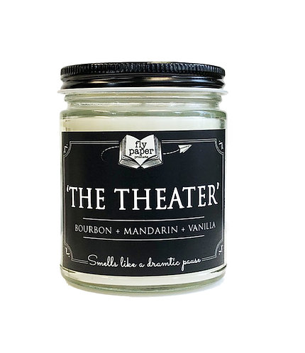 The Theater -9oz Glass Soy Candle