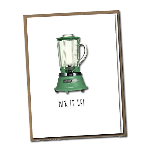 Mix it up! Linen Series - Birthday Card
