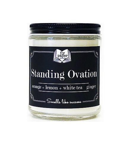 Standing Ovation 9oz Glass Soy Candle