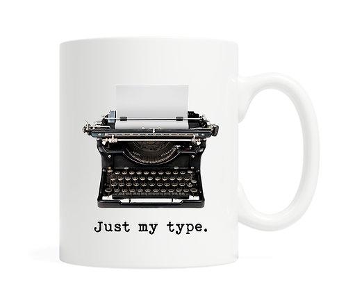 Just my type 11 oz Coffee Mug
