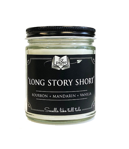 Long Story Short -9oz Glass Soy Candle