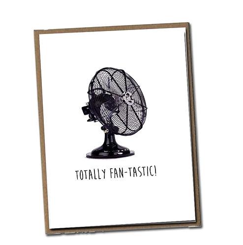 Totally Fan-tastic! Linen Series - Blank Inside