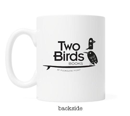 LOGO Mug- Just One More Chapter with LOGO- 11oz Coffee Mug