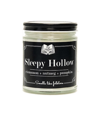 NEW! Sleepy Hollow 9oz Glass Soy Candle