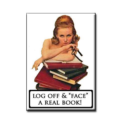 Log Off- Fridge Magnet