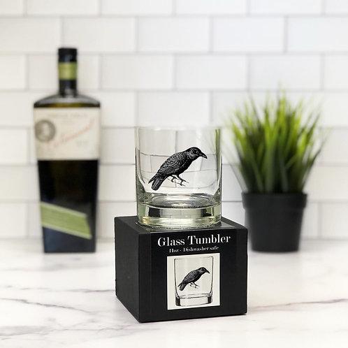 The Raven 11 oz Glass Tumbler