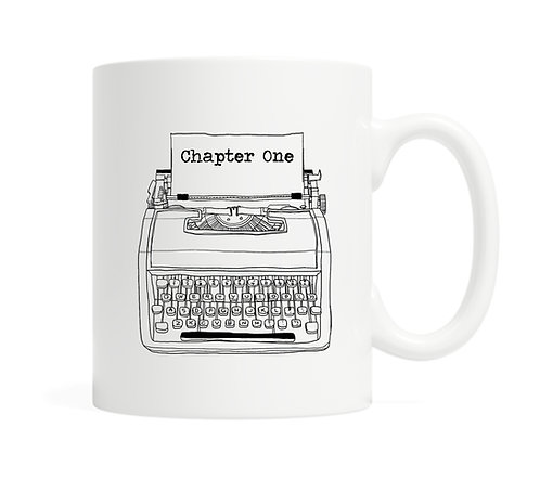 Chapter One- 11 ounce Ceramic Mug