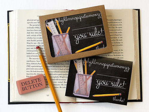 You Rule! Boxed Set of 8 Thank You Note Cards