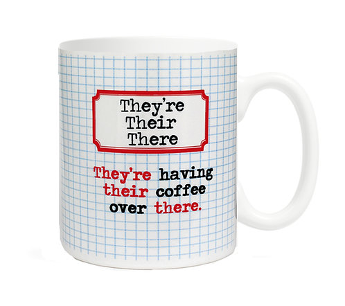 They're, their, there 11 oz Coffee Mug