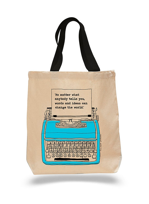 Words and Ideas Can Change the World- Canvas Tote Bag