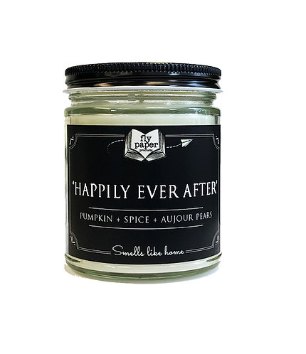 Happliy Ever After -9oz Glass Soy Candle