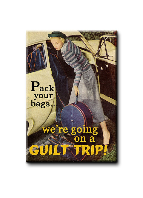 Pack your bags... - 3qty Fridge Magnets