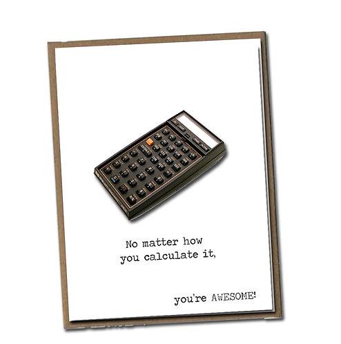 No matter how you calculate it. Linen Series - Blank Inside