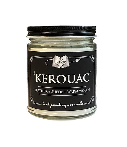 'Kerouac' 9 oz Literary Scented Soy Candle