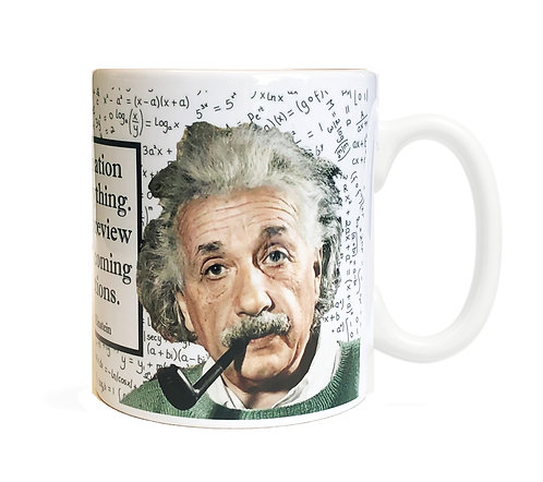 Albert Einstein 11 ounce Ceramic Mug