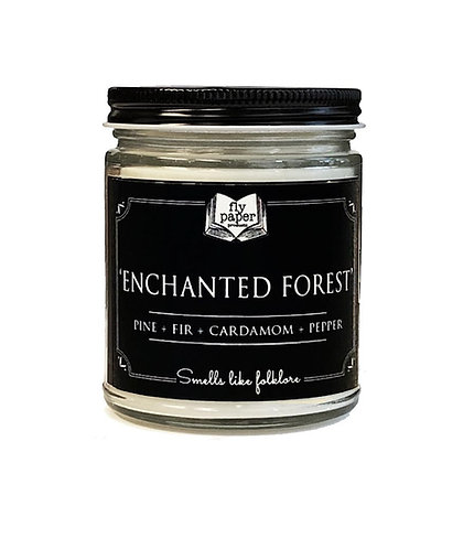 Enchanted Forest 9oz Glass Soy Candle