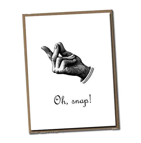 Oh, snap! Linen Series - Blank Inside