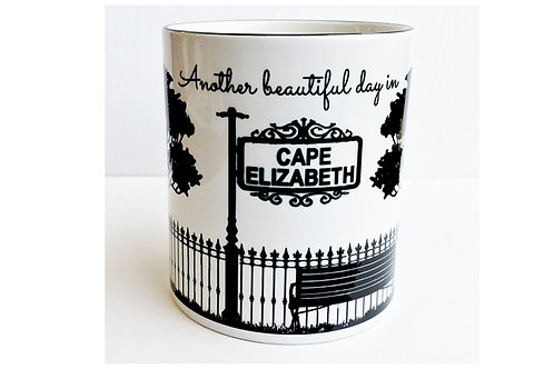 Another Beautiful Day in YOUR city name- 11oz Coffee Mug