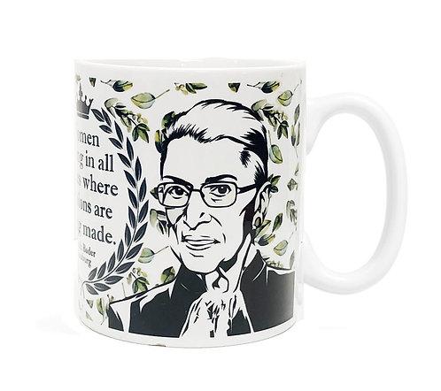Ruth Bader Ginsberg 11 oz Ceramic Mug