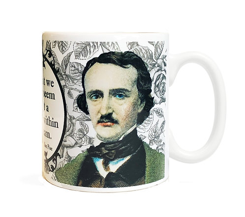 Edgar Allan Poe 11 ounce Ceramic Mug