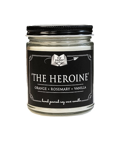 'The Heroine' -9 oz Literary Scented Soy Candle