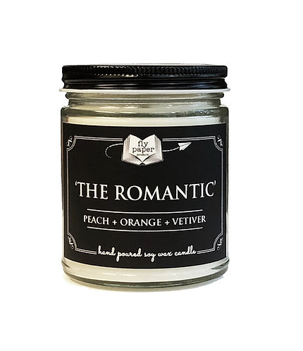 'The Romantic'' 9 oz Literary Scented Soy Candle