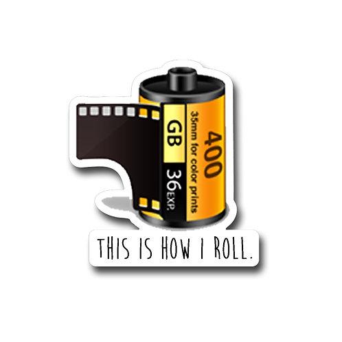 Film Roll -Vinyl Sticker
