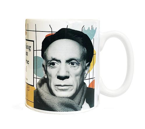 Pablo Picasso 11 ounce Ceramic Mug