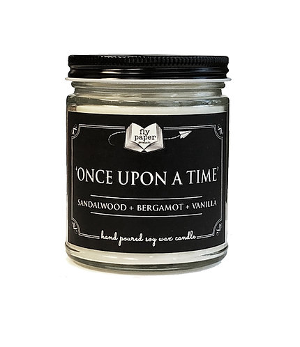 'Once Upon a Time' -9 oz Literary Scented Soy Candle