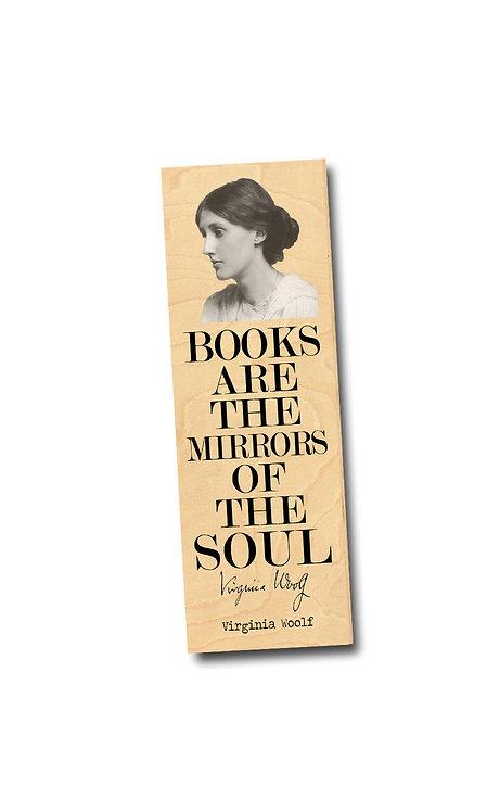 Virginia Woolf Wooden Bookmark