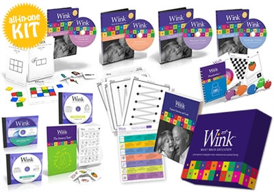 The Wink Kit (DVDs, CDs, cards & handbook)