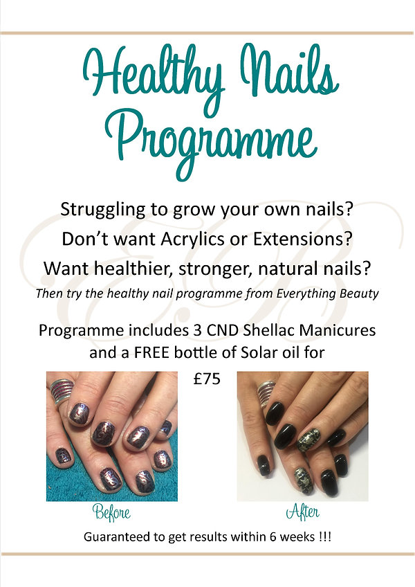 Healthy Nails Programme