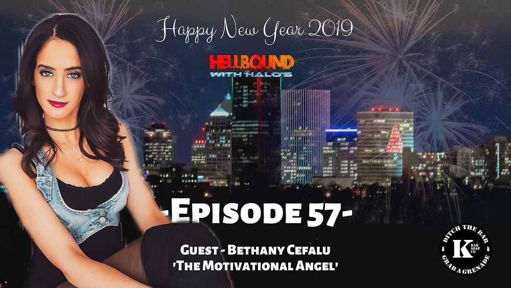 bethany cefalu, the motivational angel, positivity, positive mindset, positive life, life coach, be positive, positive vibes, new year 2019, new years eve