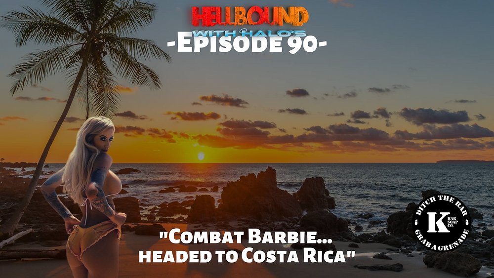 The Combat Barbie, Rianna Conner, Blonde Bombshell, Costa Rica