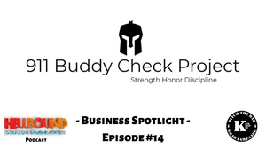 911 Buddy Check, PTSD in first responders, Combatting PTSD, substance abuse and mental health