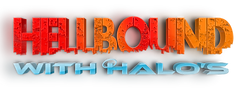 Hellbound with Halos Logo, Hellbound with Halos Podcast, Rochester, NY Podcast, Best Podcast, HellboundNation
