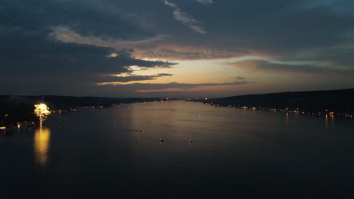 Conesus Lake at Twilight