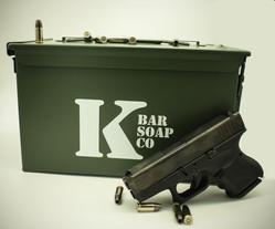 K Bar Soap Co. Ammo Can