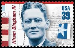 Hiram Bingham: Saved thousands-WWII