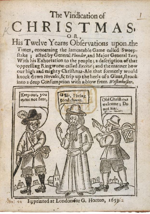 Pilgrim Ban on Christmas