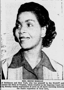 Irene Morgan