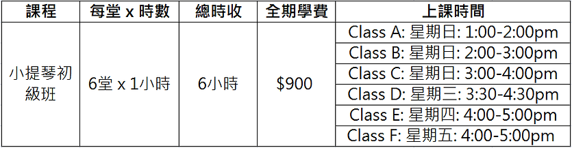 Violin Class Price and Schedule.png